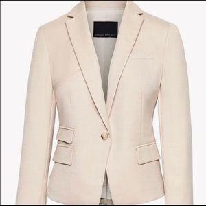 Banana Republic beige/cream blazer